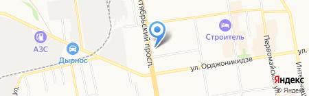 Почтовое отделение №31 на карте Сыктывкара