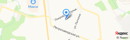 МЕБЕЛЬ+ на карте Сыктывкара