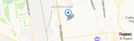 Лекстом на карте Сыктывкара
