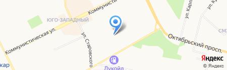 Юность на карте Сыктывкара
