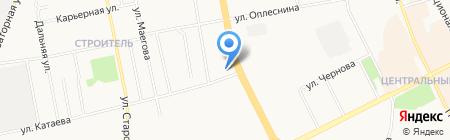 Республиканская станция переливания крови на карте Сыктывкара