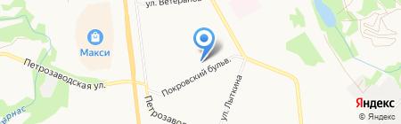 Сыночки и дочки на карте Сыктывкара