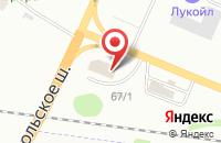 Схема проезда до компании РАЗ Вилка в Сыктывкаре