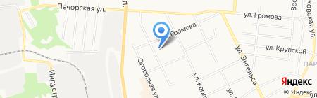 Детский сад №107 на карте Сыктывкара