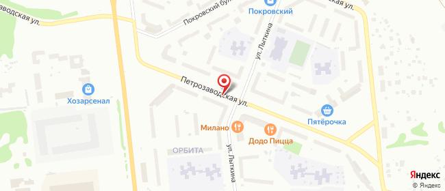 Карта расположения пункта доставки 220 вольт в городе Сыктывкар
