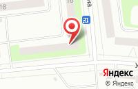 Схема проезда до компании Модерн-Строй в Сыктывкаре