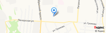 Гимназия искусств при Главе Республики Коми им. Ю.А. Спиридонова на карте Сыктывкара