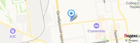 ОСТ на карте Сыктывкара