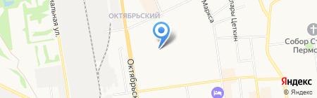Элком-Строй на карте Сыктывкара