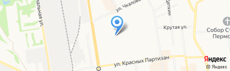 Элторг на карте Сыктывкара
