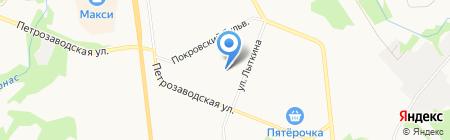 Детский сад №112 Родничок на карте Сыктывкара
