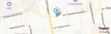 Родник на карте Сыктывкара
