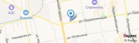Охранные системы на карте Сыктывкара