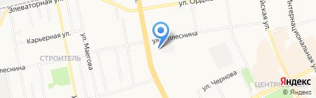 Баня №4 на карте Сыктывкара