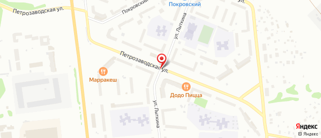 Карта расположения пункта доставки Халва в городе Сыктывкар