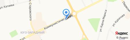 Капуста Сыктывкар на карте Сыктывкара