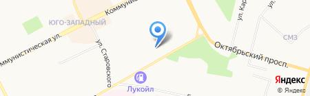 Сталкер на карте Сыктывкара