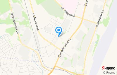 Местоположение на карте пункта техосмотра по адресу г Сыктывкар, ул Станционная, д 144/2