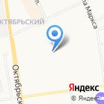 Комижилстрой на карте Сыктывкара