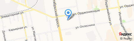 Детский сад №72 на карте Сыктывкара