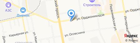 УФК на карте Сыктывкара