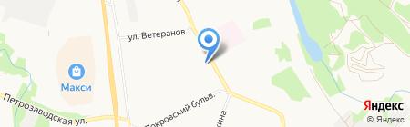 Гарант на карте Сыктывкара