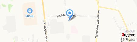 ЮРАТ на карте Сыктывкара