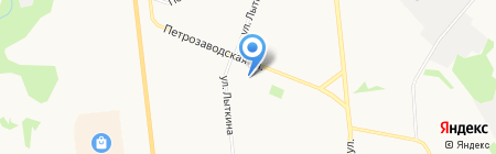 Магазин кондитерских изделий на карте Сыктывкара