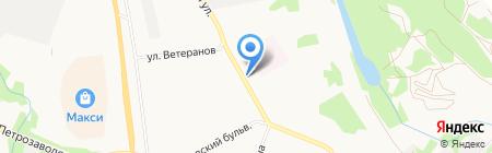 Макси Флора на карте Сыктывкара
