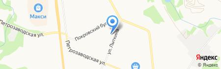 Пункт продажи социальных проездных билетов на карте Сыктывкара