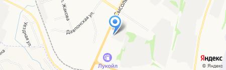 Ариса на карте Сыктывкара