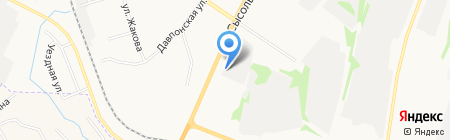 Квета-Авто на карте Сыктывкара