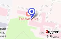 Схема проезда до компании МУЗ ТРАВМАТОЛОГИЧЕСКИЙ ПУНКТ в Сыктывкаре
