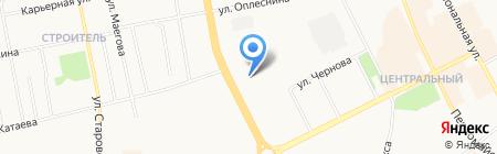 Рек на карте Сыктывкара