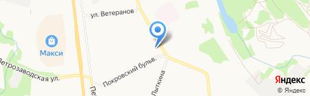 Перевозчик на карте Сыктывкара