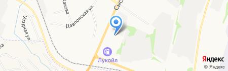 Ангар авто на карте Сыктывкара