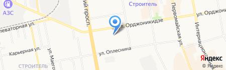 Эдем на карте Сыктывкара