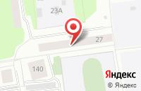 Схема проезда до компании Эжваэнерготранзит в Сыктывкаре