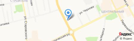 Магазин фруктов и овощей на Октябрьском проспекте на карте Сыктывкара