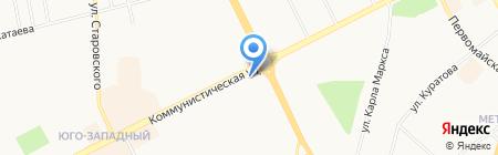 Вероника на карте Сыктывкара
