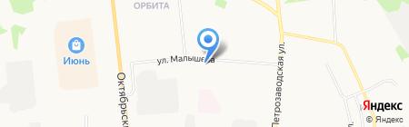 Почтовое отделение №5 на карте Сыктывкара