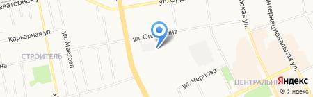 Спидометр на карте Сыктывкара