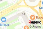 Схема проезда до компании Аптека от склада в Сыктывкаре