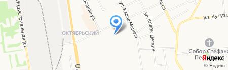 Адвокатский кабинет Красильниковой Л.К. на карте Сыктывкара