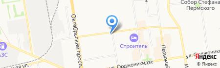 Уют хозмаркет на карте Сыктывкара