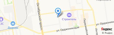 Торговая компания по продаже песка и щебня на карте Сыктывкара