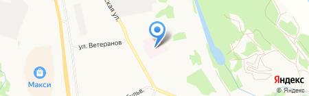 Республиканский Тентюковский дом-интернат для престарелых и инвалидов на карте Сыктывкара