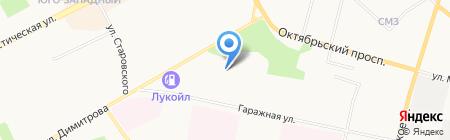 Nissan на карте Сыктывкара