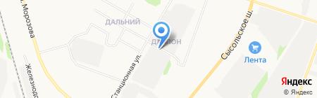 АКС на карте Сыктывкара