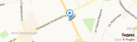 Гармония на карте Сыктывкара
